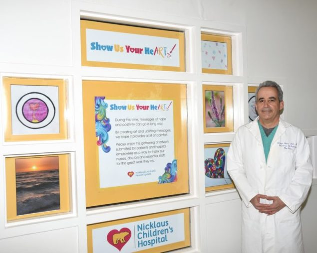 Nicklaus Children's Hospital physician spreads messages of hope, positivity