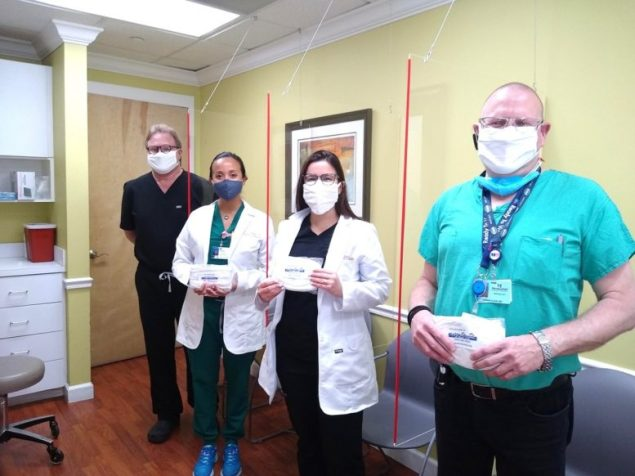 Healthy start coalition of miami-dade responds to the covid-19 pandemic by supplying masks to all doctors, nurses, and midwives who serve pregnant women