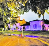 Cocoplum Woman's Club goes purple for cause