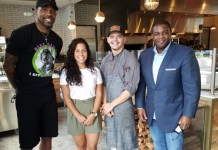 Udonis Haslem, NBA Champion, loves 800 Degrees Woodfired Kitchen