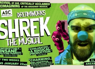 Area Stage Company's production of Shrek the Musical at Sunset Place