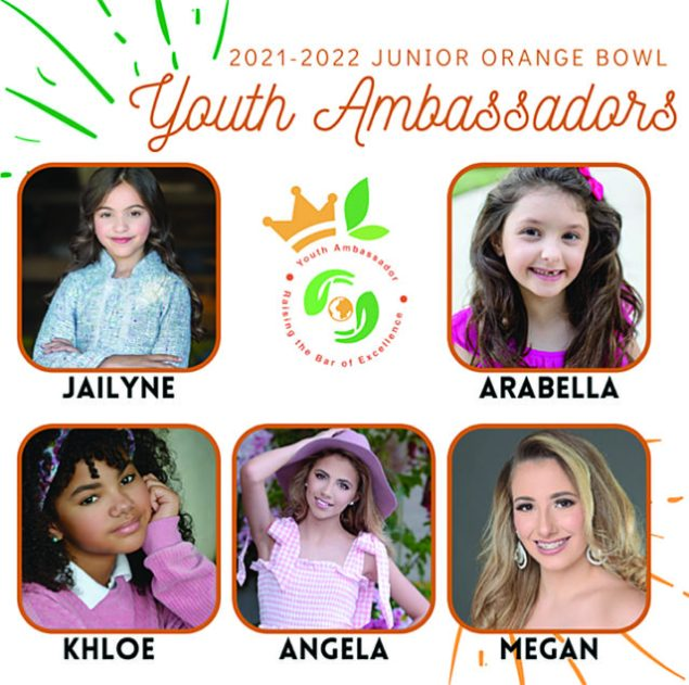 Junior Orange Bowl selects its 2021-22 Youth Ambassadors
