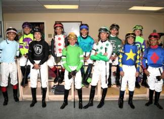 Known Agenda ridden by jockey Irad Ortiz, Jr. wins Curlin Florida Derby at Gulfstream Park