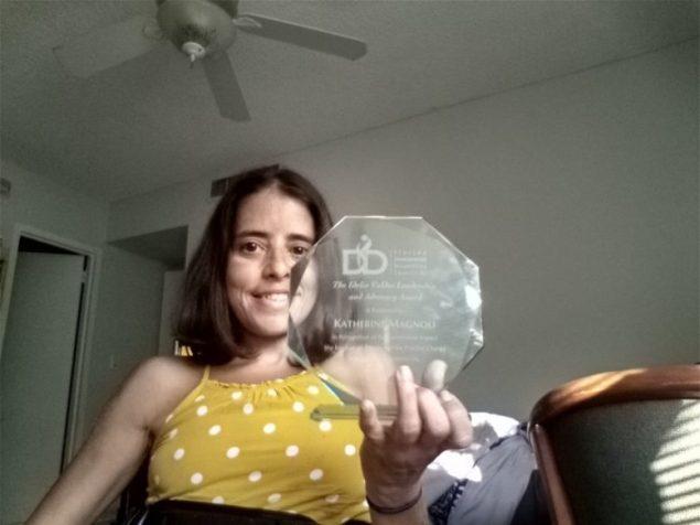 Katherine Magnoli receives annual Idelio Valdes award