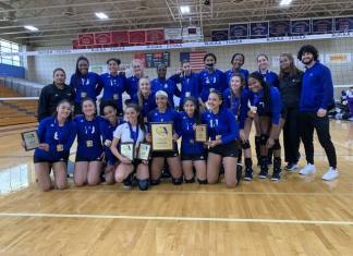 MDC Lady Sharks volleyball team wins state championship again