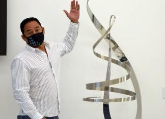 Sculptor unveils new work honoring the Gift of Life