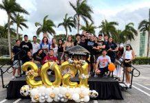 Second annual City of Aventura Senior High Graduates Car Parade unforgettable experience