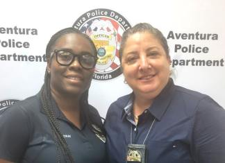 Aventura Police Dept. recognizes Civilian and Officer of the Month