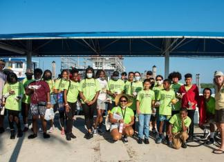 Cops, Kids & Community….Friendship Thru' Fishing Comm. Sally Heyman and Aventura Marketing Council partner up for special event at Haulover Park