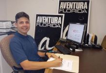 Summer Intern Eric Gavizon becomes part-time employee for Aventura Marketing Council/Chamber of Commerce