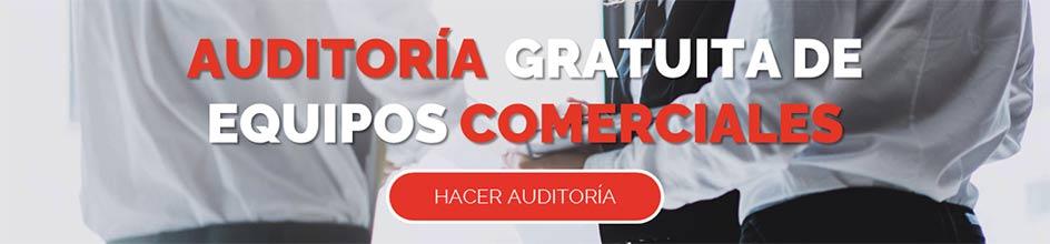 Diagnóstico gratuito. Auditoria comercial