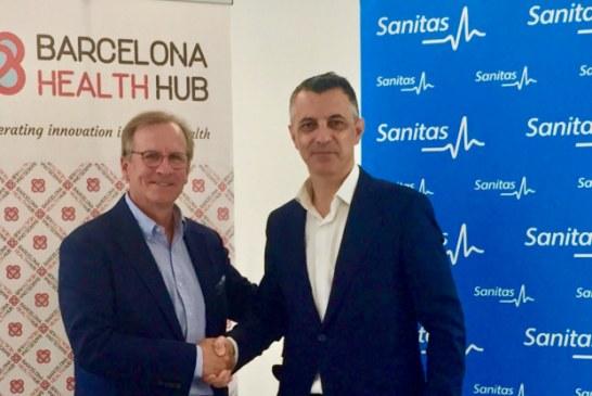 Sanitas firma un acuerdo de colaboración con Barcelona Health Hub, ecosistema de salud digital líder en Europa
