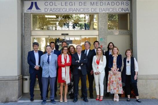 Francesc Santasusana proclamado presidente de Col·legi de Mediadors d´Assegurances de Barcelona