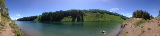 Meridian Lake in Crested Butte, CO