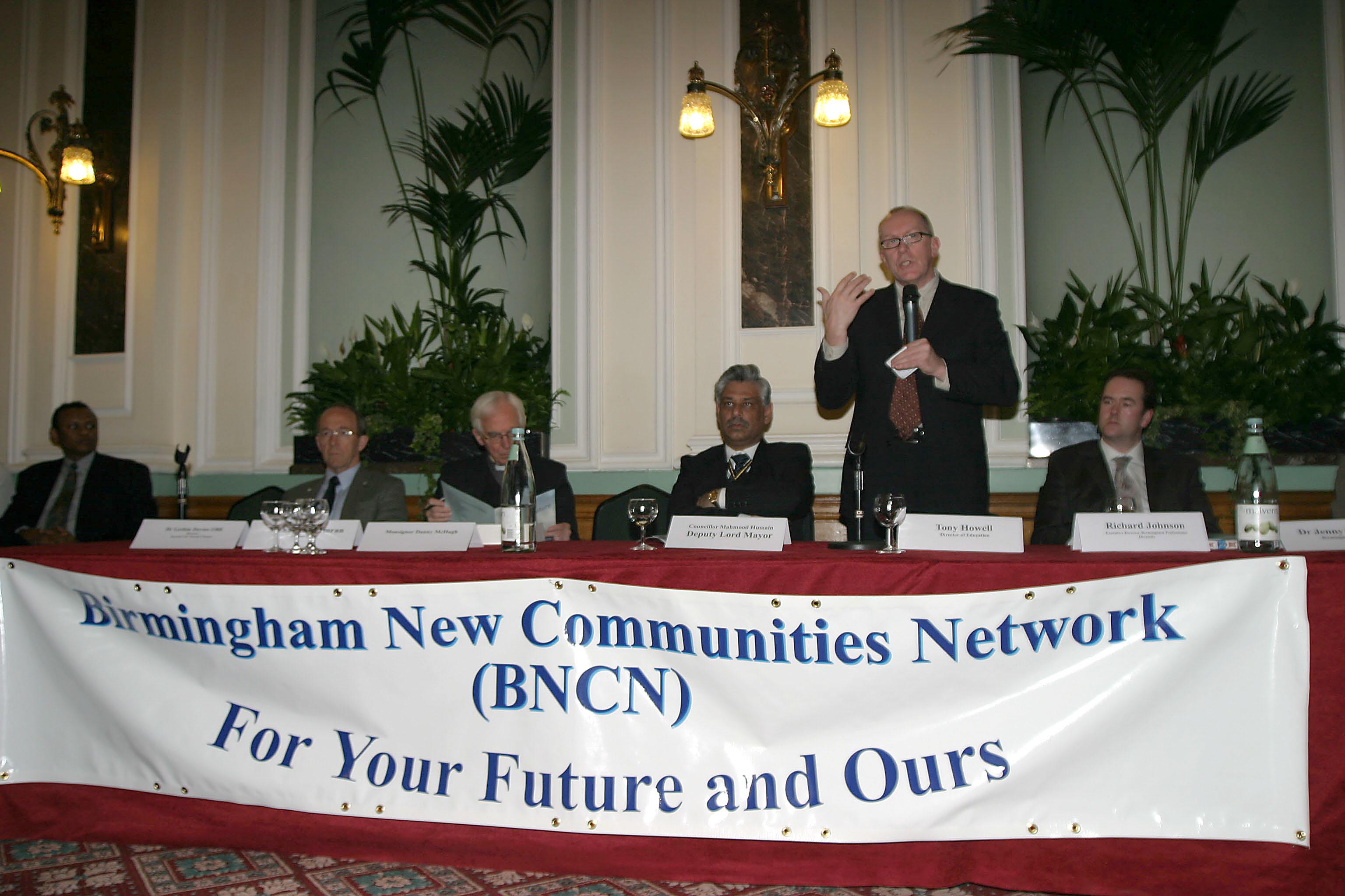 Launch of the Birmingham New Communities Network
