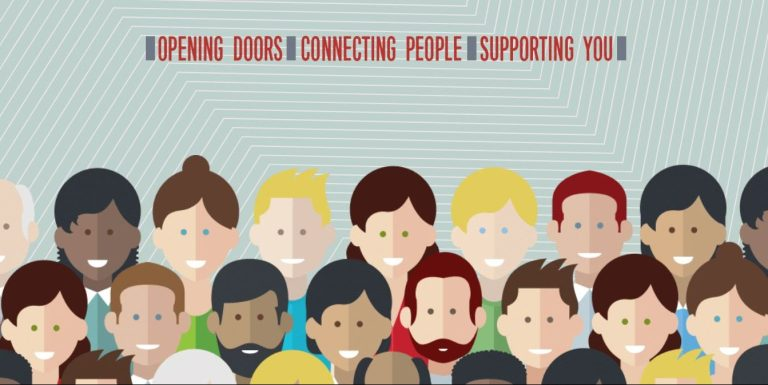 opening doors, connecting people, supporting you