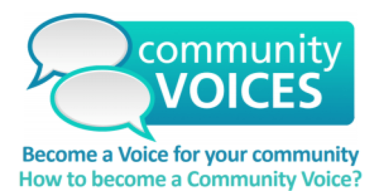 Community Voices – can your group be a voice in your community?