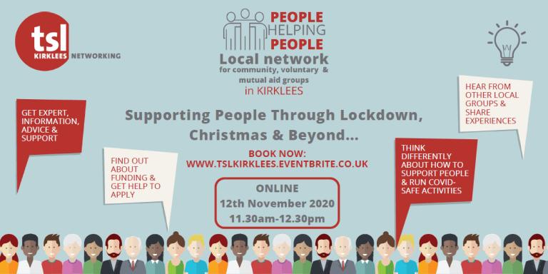 People Helping People - 12th November 2020