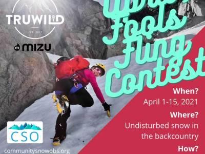 april contest flyer