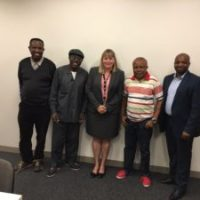 Meeting with Sue Hill Department of Immigration and Border Protection Regional Manager Designate for Africa