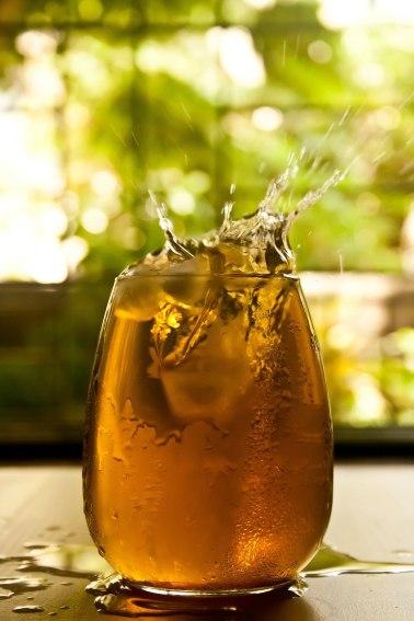 drink overflowing