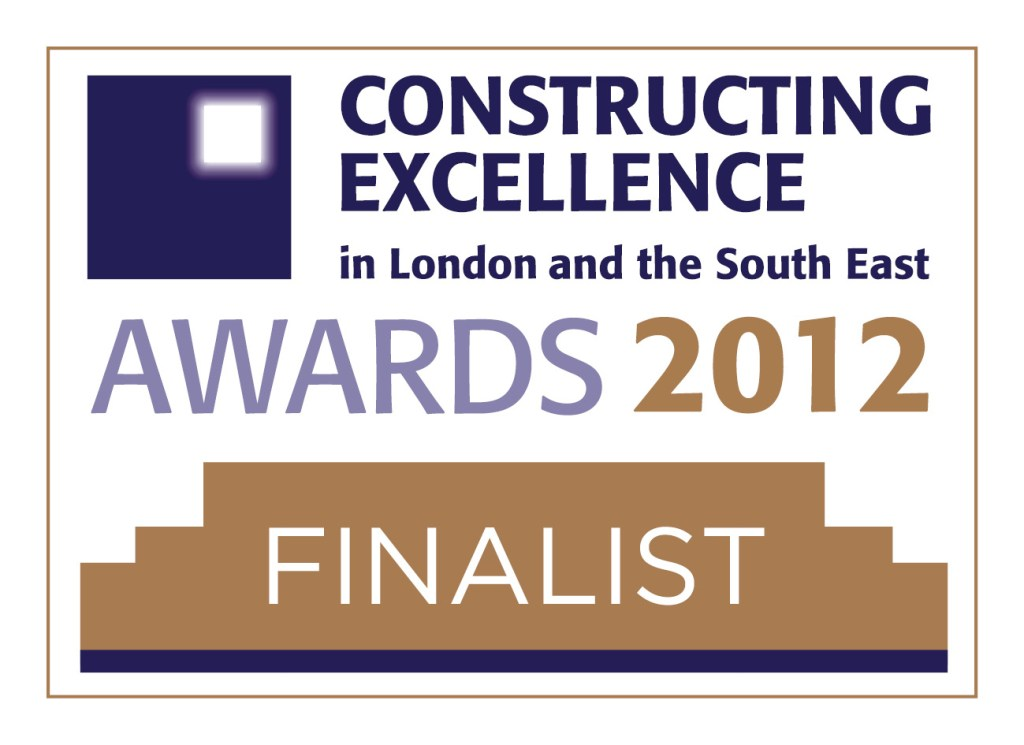 NCWRP Finalist in the London and South East category of the Construction Excellence Awards