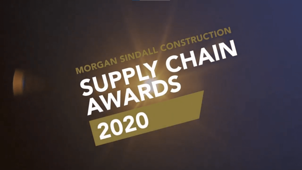 Community Wood Recycling named as the winner of the Social Value Award in the Morgan Sindall Construction and Infrastructure Supply Chain Awards 2020