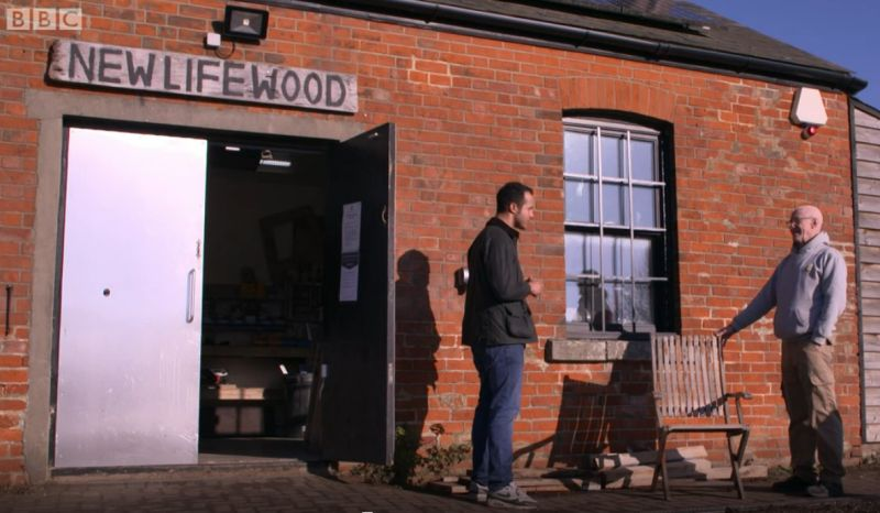 New Life Wood are featured on BBC One's Morning Live show with a visit from Will Kirk of Repair Shop fame