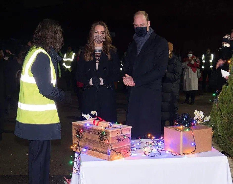 The Duke and Duchess of Cambridge visit EMERGE