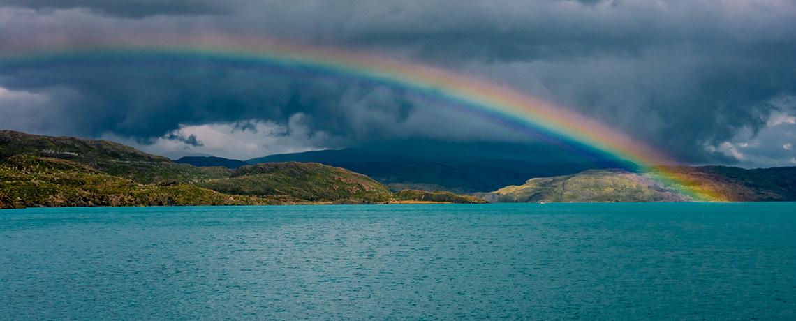 rainbows remind us of God's promise