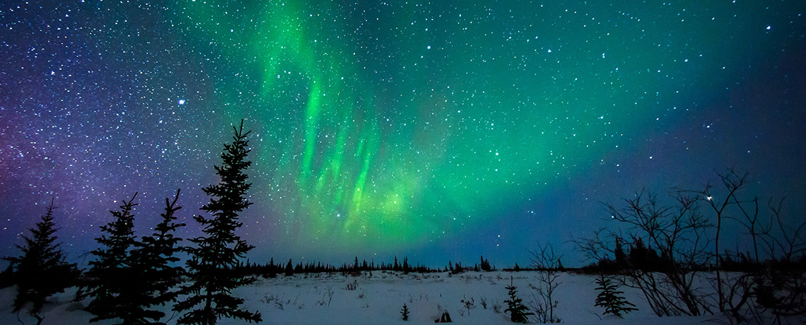 Is not god in the highest of heaven? And behold the Highest of the stars, how high they are! Northern lights and stars!