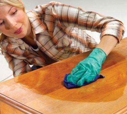 Cmo limpiar los muebles de madera