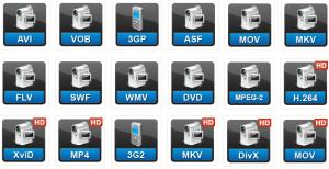 como cambiar formato de video