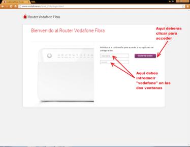 Cambiar pass Vodafone