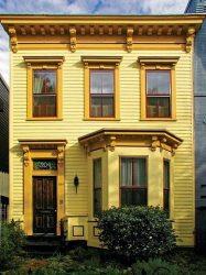 Fotos e imagenes exteriores de casas de color amarillo