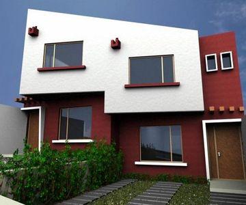 Tonos y colores modernos para fachadas de casas