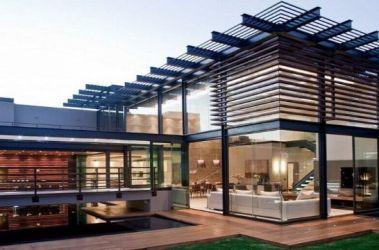 Originales y creativas fachadas de casas modernas 2020
