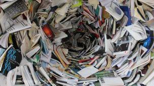 Descartar livros velhos