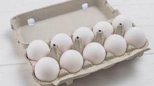 Como descartar caixa de ovos