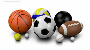 Como descartar bolas de tênis, golfe, basquete, futebol, volei