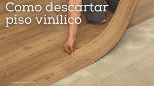 Como descartar piso vinílico