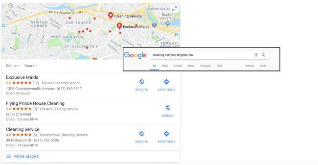 otimize seu pacote local do google minha empresa