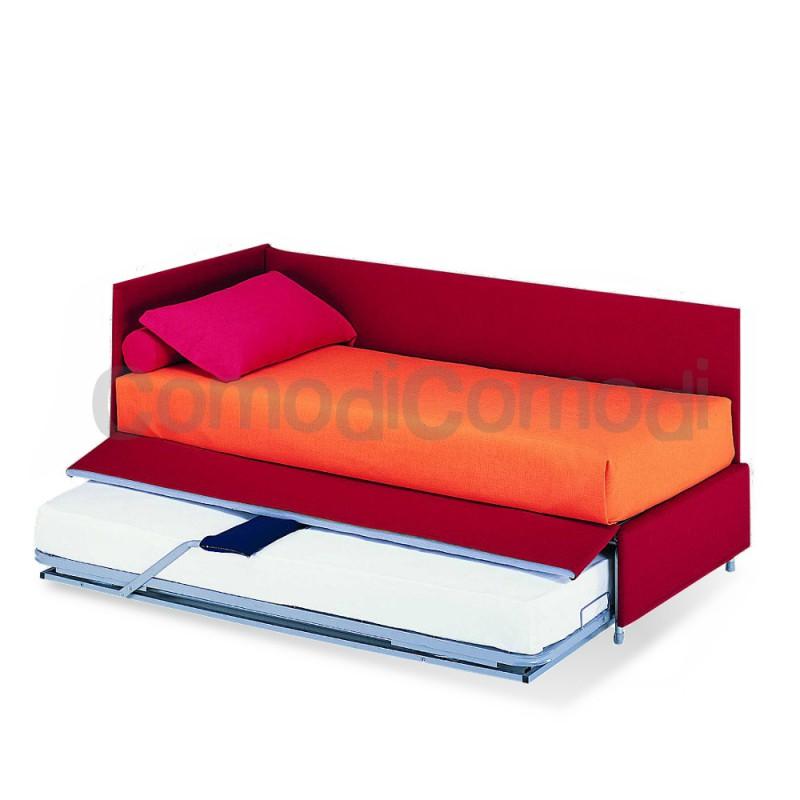 Giocondo  Letto estraibile  divano doppio letto  Mat H 20cm  L 190cm