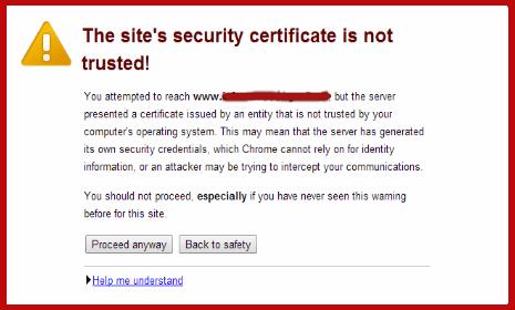 Hazards of an Expired SSL certificate