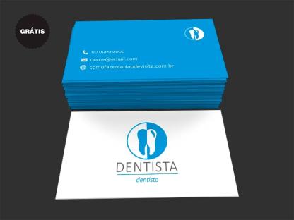 Cartão de Visita Dentista Grátis
