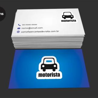 Cartão de Visita Motorista Grátis