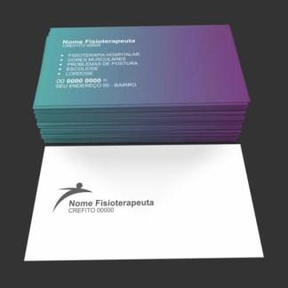 Cartão de Visita Fisioterapia Modelo 02