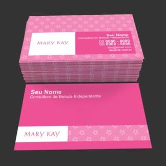 Cartão de Visita Mary Kay Modelo 01