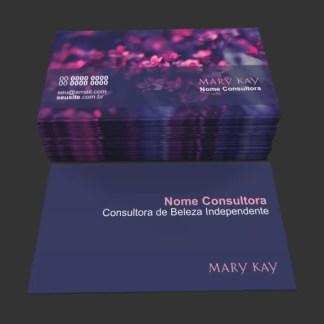 Cartão de Visita Mary Kay Modelo 03