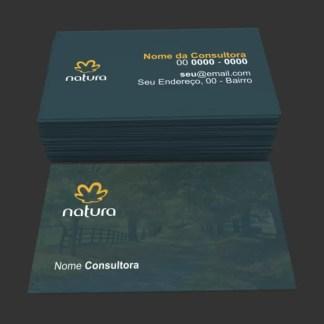 Cartão de Visita Natura Modelo 01